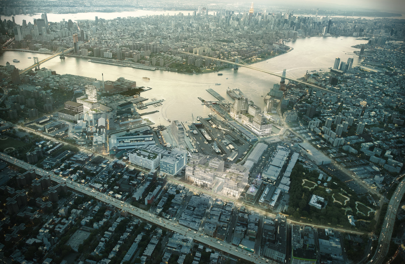 Brooklyn Navy Yard Master Plan