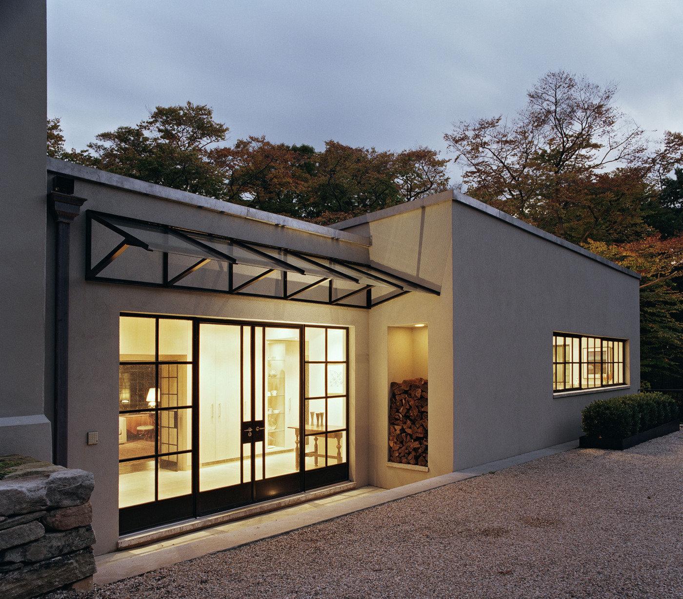 Exterior House Designs Exterior Modern With Concrete Patio: WXY