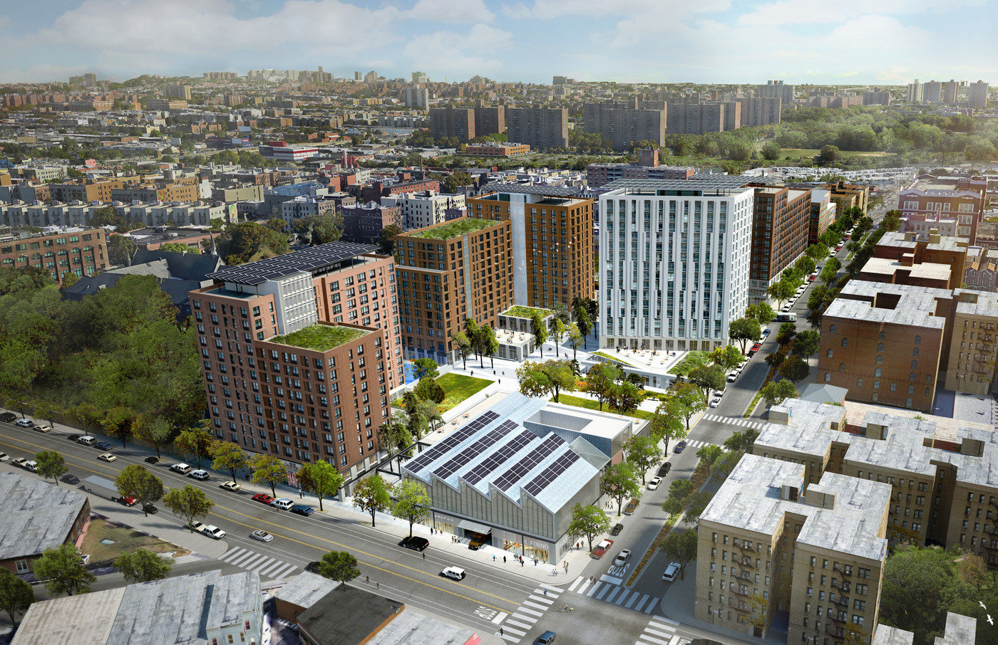 Spofford Mixed-Use Redevelopment